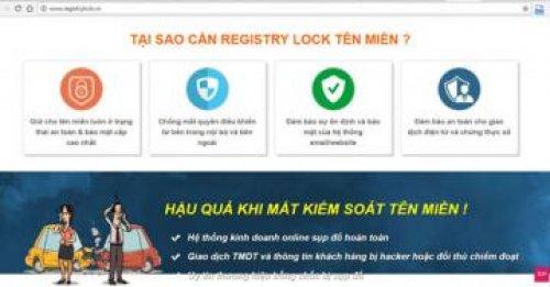 """Theo ICTNEWS - P.A Việt Nam cung cấp dịch vụ """"Khóa tên miền"""