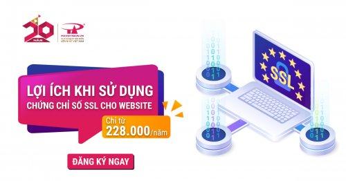 Lợi ích khi sử dụng chứng chỉ số SSL cho website