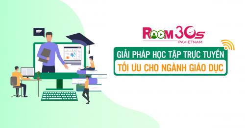 Room30s - Hỗ trợ ngành giáo dục mùa tựu trường