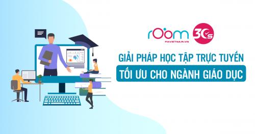 Room30s - Giải pháp học tập trực tuyến tối ưu cho ngành Giáo dục
