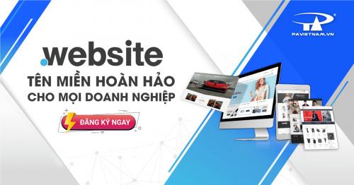 .WEBSITE - Tên miền hoàn hảo cho mọi doanh nghiệp