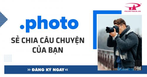 Tên miền .PHOTO - Sẻ chia câu chuyện của bạn