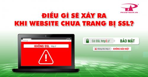ĐIỀU GÌ SẼ XẢY RA KHI WEBSITE CHƯA CÓ CHỨNG CHỈ BẢO MẬT SSL?