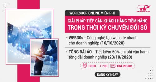 Webinar|Công nghệ tạo web nhanh & tiết kiệm 50% phí tổng đài