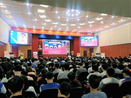 Workshop dành cho sinh viên trường Đại Học Sư Phạm Kỹ Thuật