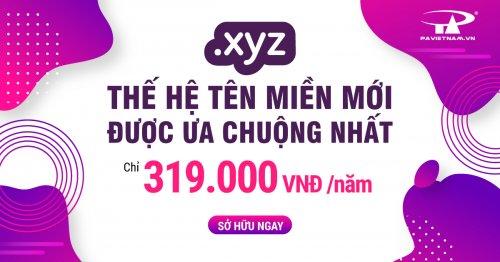 .XYZ - Tên miền thế hệ mới
