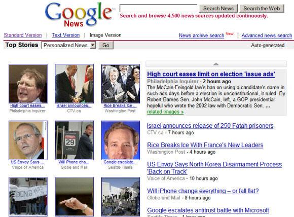 Google News được nâng cấp mới chất lượng hơn